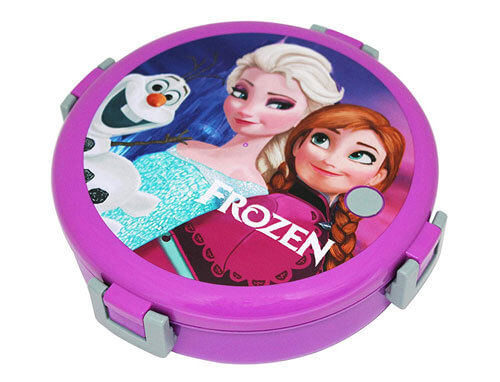 Kids cartoon round lunch box