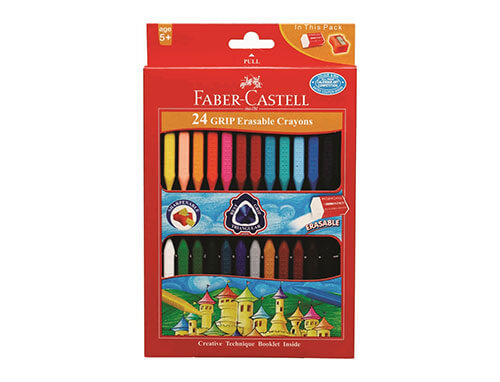 Erasable Crayons 24 Shades (Set of 2)