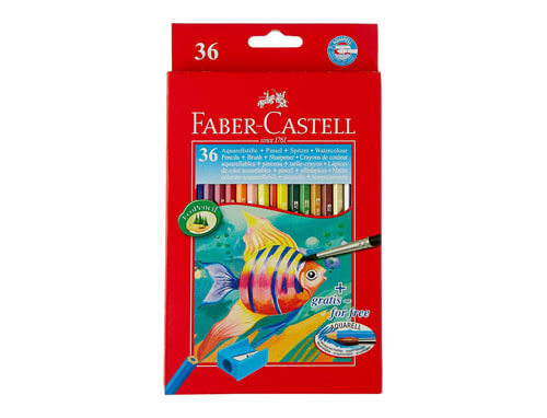 Aquarelle Water Color Pencils 36 Shades