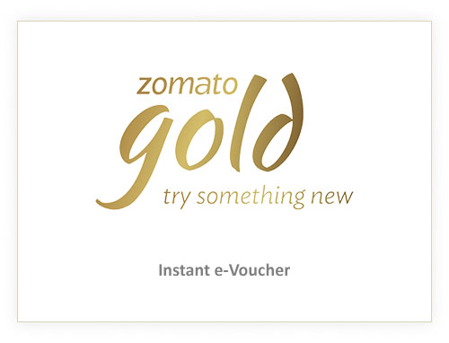 Zomato Gold Rs. 600