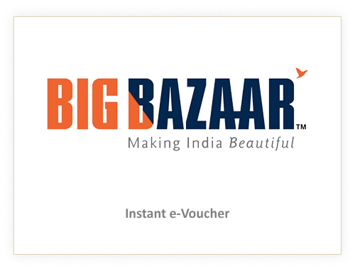 Big Bazaar Rs. 1000