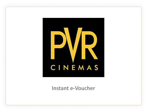 PVR Cinemas Rs. 500