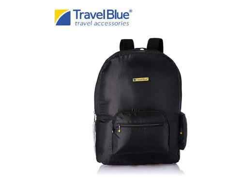 Travel Blue Black  Backpack