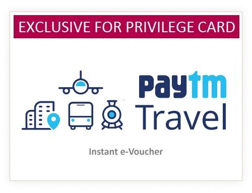 Paytm Travel Rs. 2500